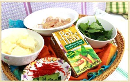 Roi Thai Green Curry Soup 250 Ml. l