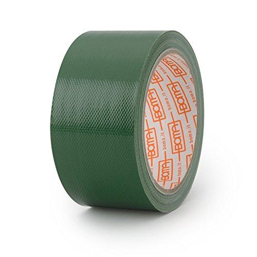 Boma B47008300013 Nastro telato per riparazioni, 50 mm x 10 m, colore: Verde