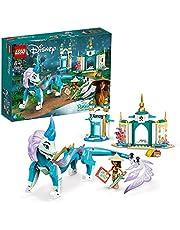 LEGO 43184 Disney Princess Raya och Sisu Dragon Toy, från Disneys Raya och den sista drakfilmen, för barn 6 år gammal