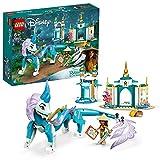 LEGO 43184 Disney Princess Raya und der Sisu Drache Spielzeug, aus dem Film Raya und der letzte Drache, Spielzeug ab 6 Jahren