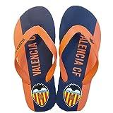 Valencia CF Chancla Naranja, Unisex Adulto, 41-42