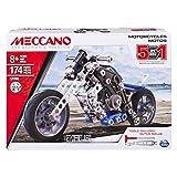 Mecc ano - 17202 - Jeu de Construction - Moto - 5 Modèles - 174 pièces