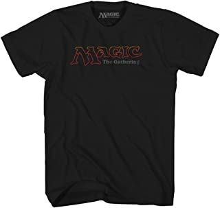 Magic the Gathering Logo Gamer Roll Playing Card Game Fantasy Wizards Mens Adult Tee Graphic T-shirt