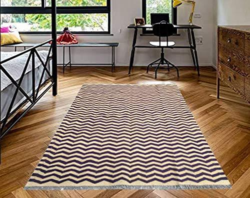 Genuine Afghan Kilim, Boho Rug, Flat Weave Kilim, Stunning Large Kilim, Hand Woven Afghan Chobi Kilim, 192 cm x 122 cm