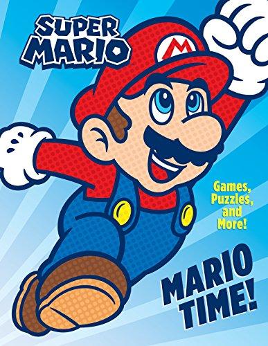 Mario Time! Activity Book (Super Mario) [Idioma Inglés]
