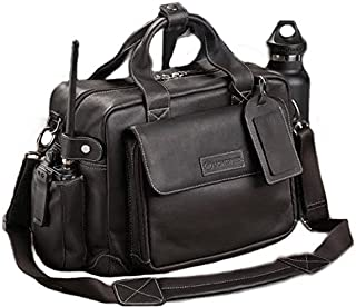 leather flight bag