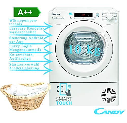 Candy CS H10A2DE-S Asciugatrice a pompa di calore (Carico frontale...