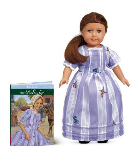 By American Girl Editors - Felicity Mini Doll (American Girls Collection Mini Dolls) (Min Toy/Ha) (2013-09-14) [Misc. Supplies]