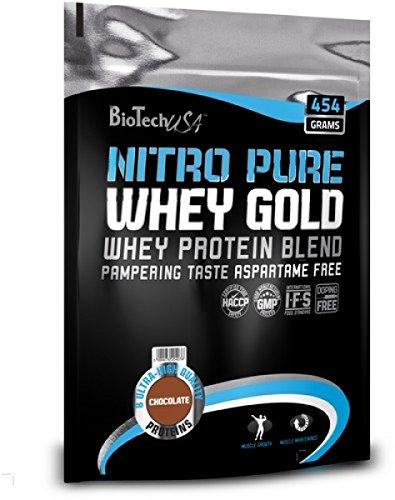 BioTech USA Nitro Pure Whey Gold 454g Geschmack Vanille