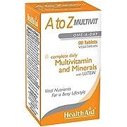 HealthAid A to Z Multivit - 90 Vegetarian Tablets