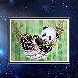 DIY 5D Fashion Diamond Draw Cute Panda Baby Cartoon Animal Children Cross Stitch