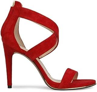 Women's Brooke Cross Strap Dress Sandal Heeled