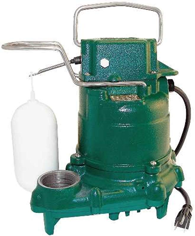 Zoeller M53 Mighty Mate Submersible Sump Pump 1 3 Hp
