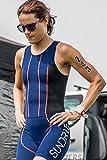 Sundried Dorsal Tatuaje Temporal fijado para el Triatlón Ironman Piscina Aquathlon Aquabike (10 números por Paquete) (1)