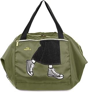 [ミスサパト] エコバッグ レディース 3WAY 折りたたみ かごサイズ キャリーオン ロングスカート