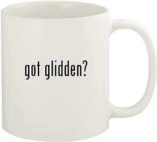 got glidden? - 11oz Ceramic White Coffee Mug Cup, White