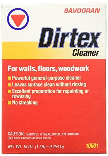Savogran 10601 Dirtex Powder Cleaner, 1-Pound