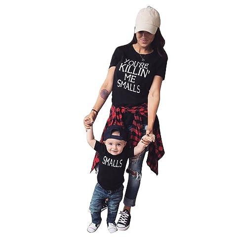 371dbf464 Lesimsam You're Killing Me Smalls T Shirt Family Matching Shirts Outfits  Parent Child Shirts