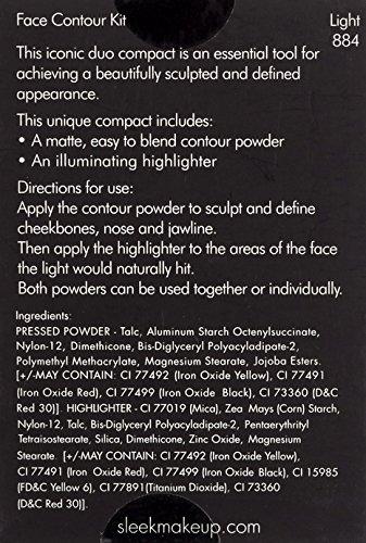 Sleek MakeUP Face Contour Kit Light 14g