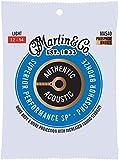 Martin Guitar MA540 Jeu de cordes pour guitare acoustique 92/8 Bronze phosphoreux
