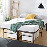 Zinus 18 Inch Premium SmartBase Mattress Foundation / 4 Extra Inches high for Under-bed Storage / Platform Bed Frame / Box Spring Replacement / Strong / Sturdy / Quiet Noise-Free, Twin