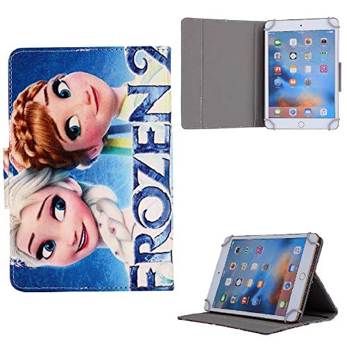 Girls Favorite Cartoon Character ~ Apple iPad 10.2 Inch 2020 2019 iPad 7 8 Pro 10.5 / Air 3 (Elsa Anna Sister Case)