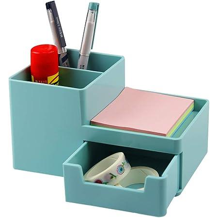Organizador de escritorio para l/ápices cajitas de almacenamiento para oficinas 1 pcs