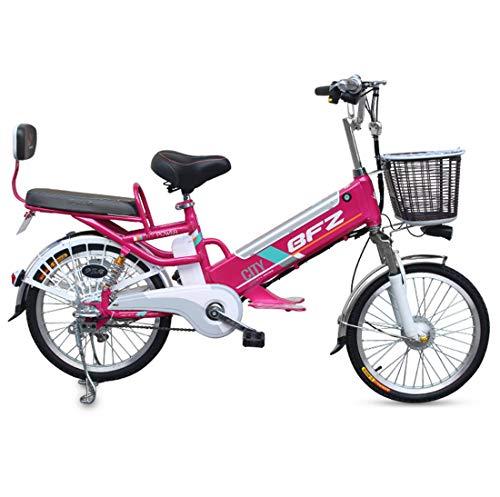 lvbeis Adulti Bicicletta Elettrica Mountain Bici Pedalata Assistita City Bike Portatile velocità Fino A 25 Km/h E-Bike da Strada