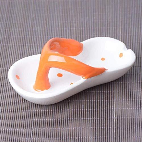 86XH Cenicero creativo personalidad tendencia multifuncional europeo cerámica retro moda cenicero creativo personalidad lindo pinbaiya