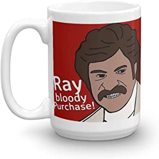 Ray bloody Purchase!!. 15 Oz Coffee Mugs With Easy-Grip Handle, Suitable For Hot And Cold Drinks. Can Be Used For Home And Office