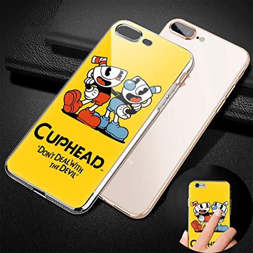 GFJGU Cuphpwd qaqppqdo Swapch Personalized Custom TPU Transparent Phone Cover Case For Fudna iPhone 7/8