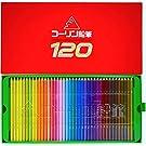 【Colleen】コーリン 鉛筆 六角軸 120色 紙箱入り色鉛筆 775-120 [並行輸入品]