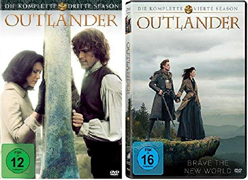Outlander Staffel 3+4 [DVD Set]
