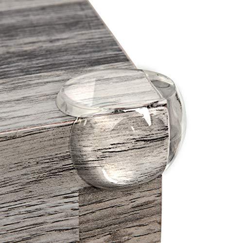 Eckenschutz für Baby extra weich und starker Kleber, Eckschutz transparent für Tisch und Möbel-Ecken von Homery, selbstklebender Kantenschutz Stoßschutz für Baby's und Kinder