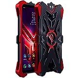 Byr883onJa Funda para smartphone Asus ROG Phone 3 ZS661KS Hammer II a prueba de golpes (color: negro y rojo)