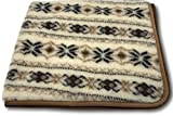 Alpenwolle Wolldecke Norwegen Tagesdecke Wohndecke Überwurf Decke alle Größen 100prozent Wolle (140x200)