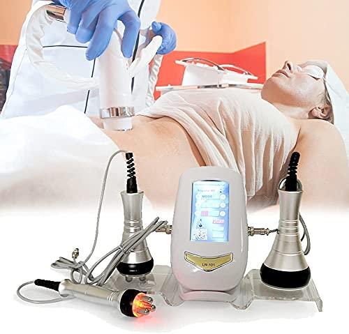 NFRMJMR Cuerpo Shaper Pérdida de Peso Cuidado de la Piel 3 en 1 Máquina de eliminación de Grasa con 3 boquillas de Belleza para Reducir efectivamente el Peso y Levantar la Piel