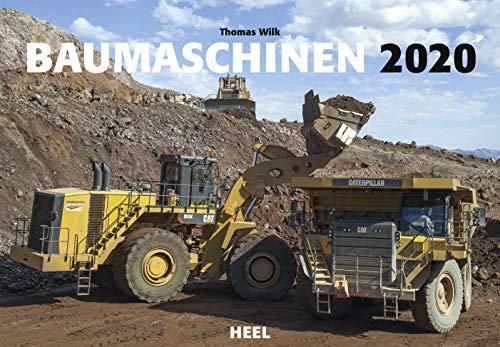 Baumaschinen 2020: Technik-Kolosse im Einsatz