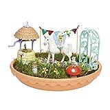 TOMY- My Fairy Garden Licorne Jardin à Faire Pousser pour Enfant Idée de Cadeau, Mini Figurine Fée, Jouet partir de 4 Ans+, E72906FR, Multicolore