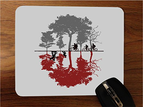 Fan Made Popular TV Show Upside Down Art Desktop Office Silicone Mouse Pad by MWCustoms