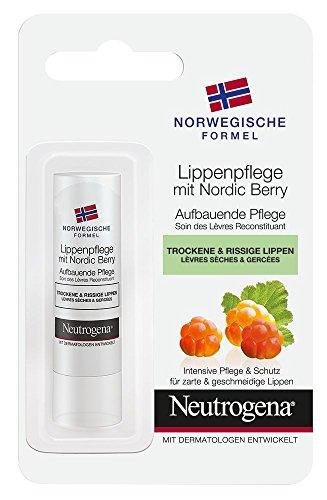 Neutrogena Norwegische Formel Lippenpflege mit Nordic Berry - 1 x 4,9g
