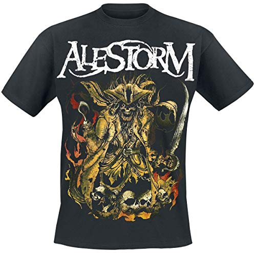 Alestorm We Are Here to Drink Your Beer! Männer T-Shirt schwarz M 100% Baumwolle Band-Merch, Bands