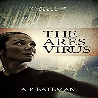 The Ares Virus audiobook cover art