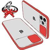 Funda Con Tapa Deslizable Para Cámara Compatible Con iPhone 12 Pro Max 6.7' Funda Protectora Antigolpe Carcasa PC y...