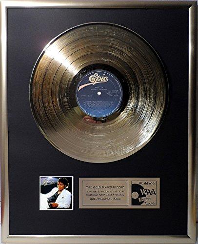 Michael Jackson - Thriller goldene Schallplatte gold record