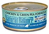 Natural Balance L.I.D. Canned Cat Food Chicken and Green Pea 5.5 oz