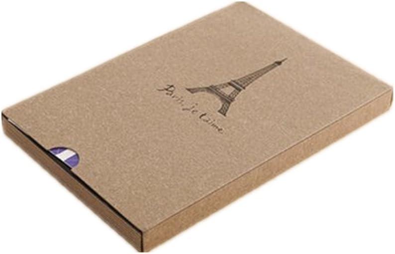 Hurricanes Regular store Eiffel Tower Pattern Scrapbook Fu DIY Max 70% OFF Photo For Album