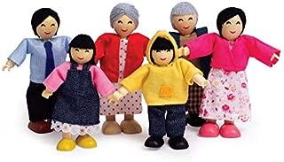 Hape Happy Doll Family - Asian, (Set of 6)