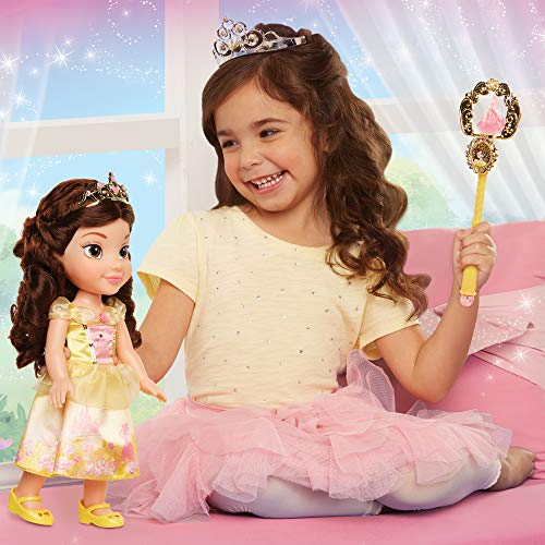Disney Princess 84307 Belle Toddler Doll and Accessoires pop, Multi