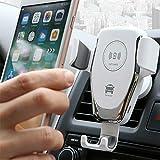 SJI Chargeur de voiture sans fil pour iPhone Se2020/11/Promax/XS Max/XS/XR/X/8/8+, Samsung Galaxy...